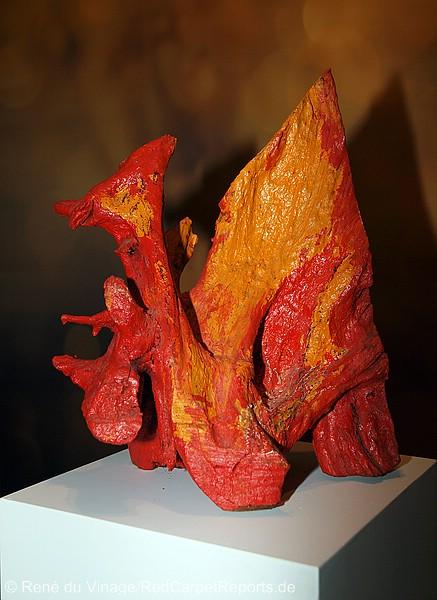 Skulptur Verlangen V Mane Wunderlich  fasanen37 02 Bronze Bildhauer Berlin