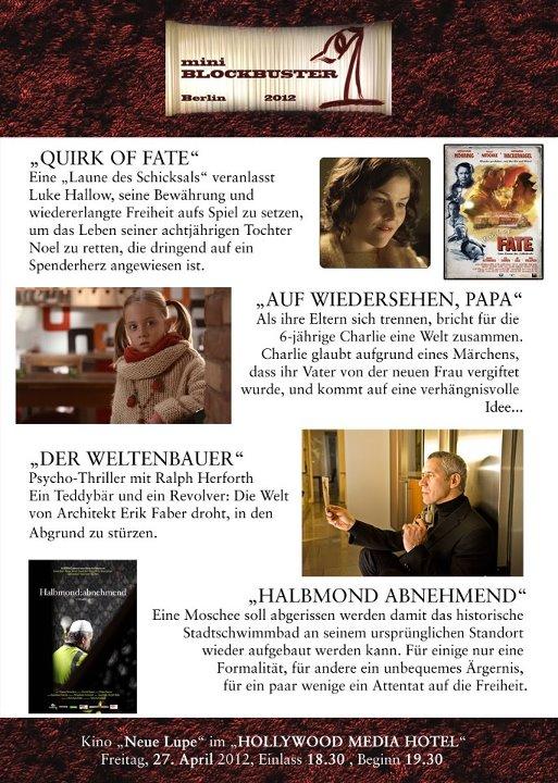 Nominierte Oliver Kyr Filmproduktion KM1