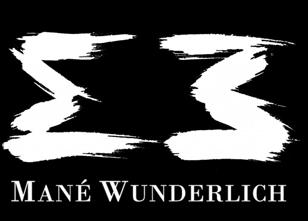 mané wunderlich logo MW a 3 Zahl Art Künstler Bildhauer MAler