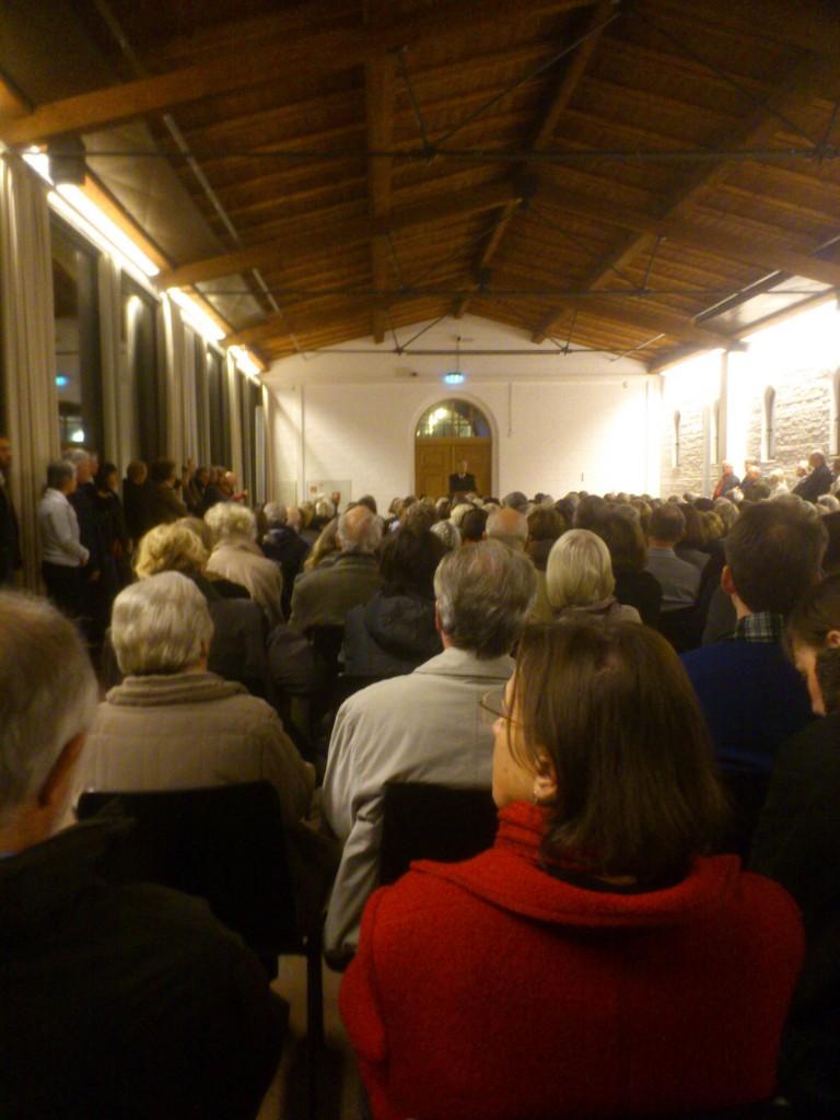Foto: Eröffnungsansprache Udo Kittelmann Direktor SMB Nationalgalerie - Sammlung Scharf-Gerstenberg Berlin Charlottenburg Schlossstrasse