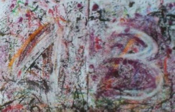 Gesundes Neues Jahr Happy new Year  Mané Wunderlich Künstler  Maler Zeichnung Tor und Turm Bildhauer Zahl 13