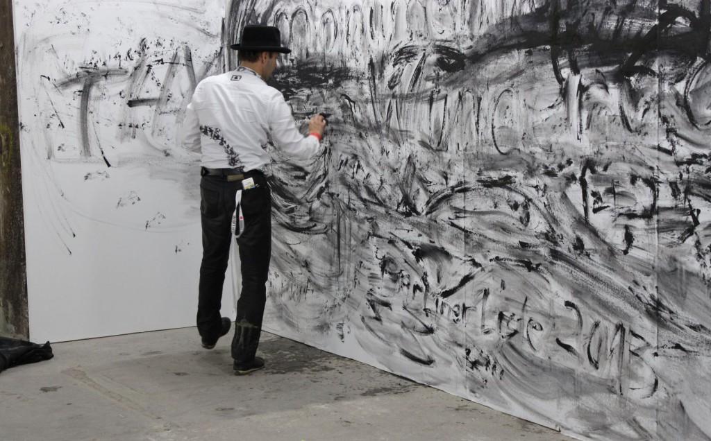 monumentalWunderlich-Mané-Wunderlich-Fair-for-Contemporary Art-Mane Wunderlich-Kunstraum-BerlinerListe_Tapete-Acryl-IMG_0554