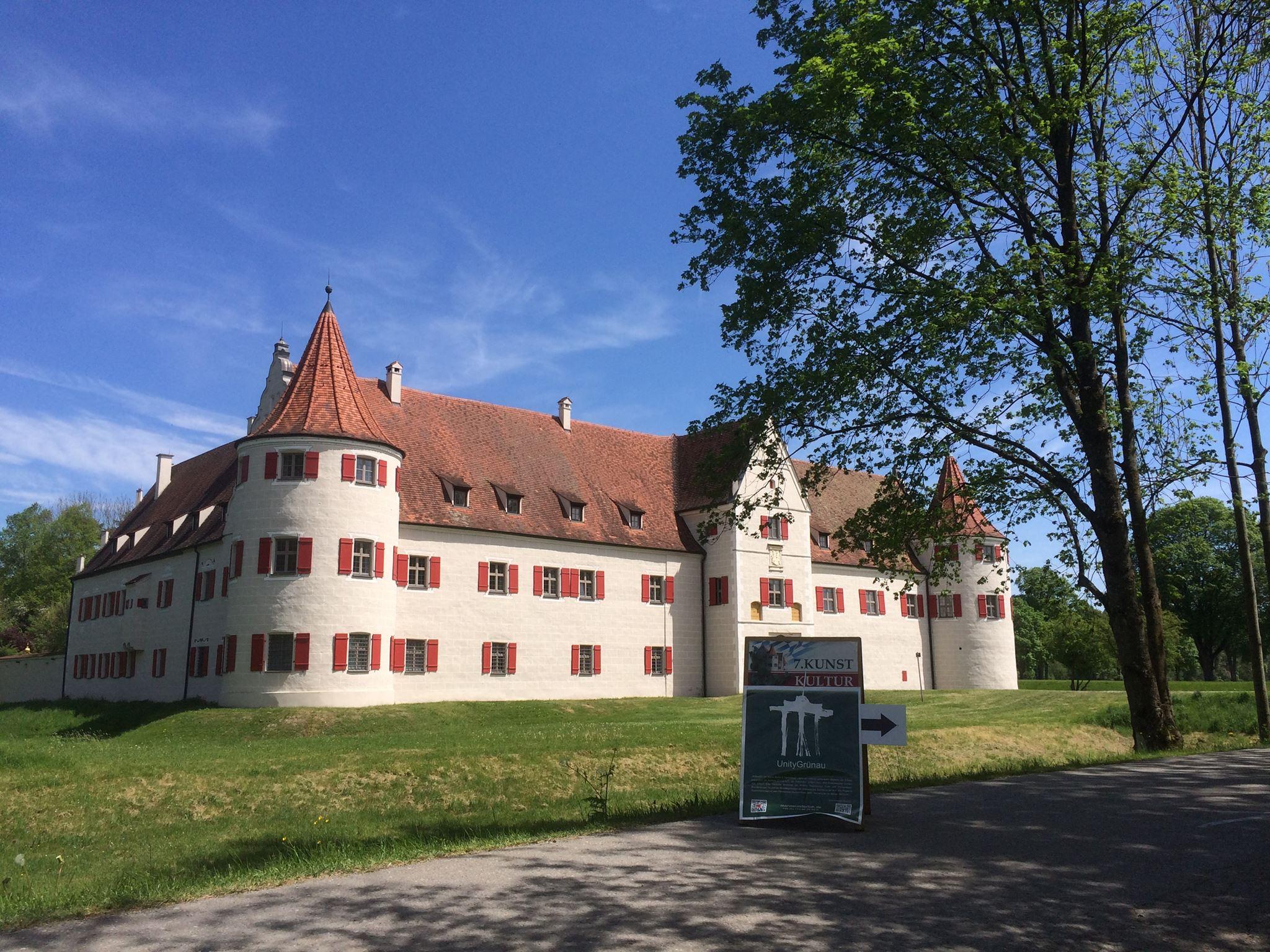 Ausstellung Schloss Grünau Neuburg a.d.D UnityGrünau