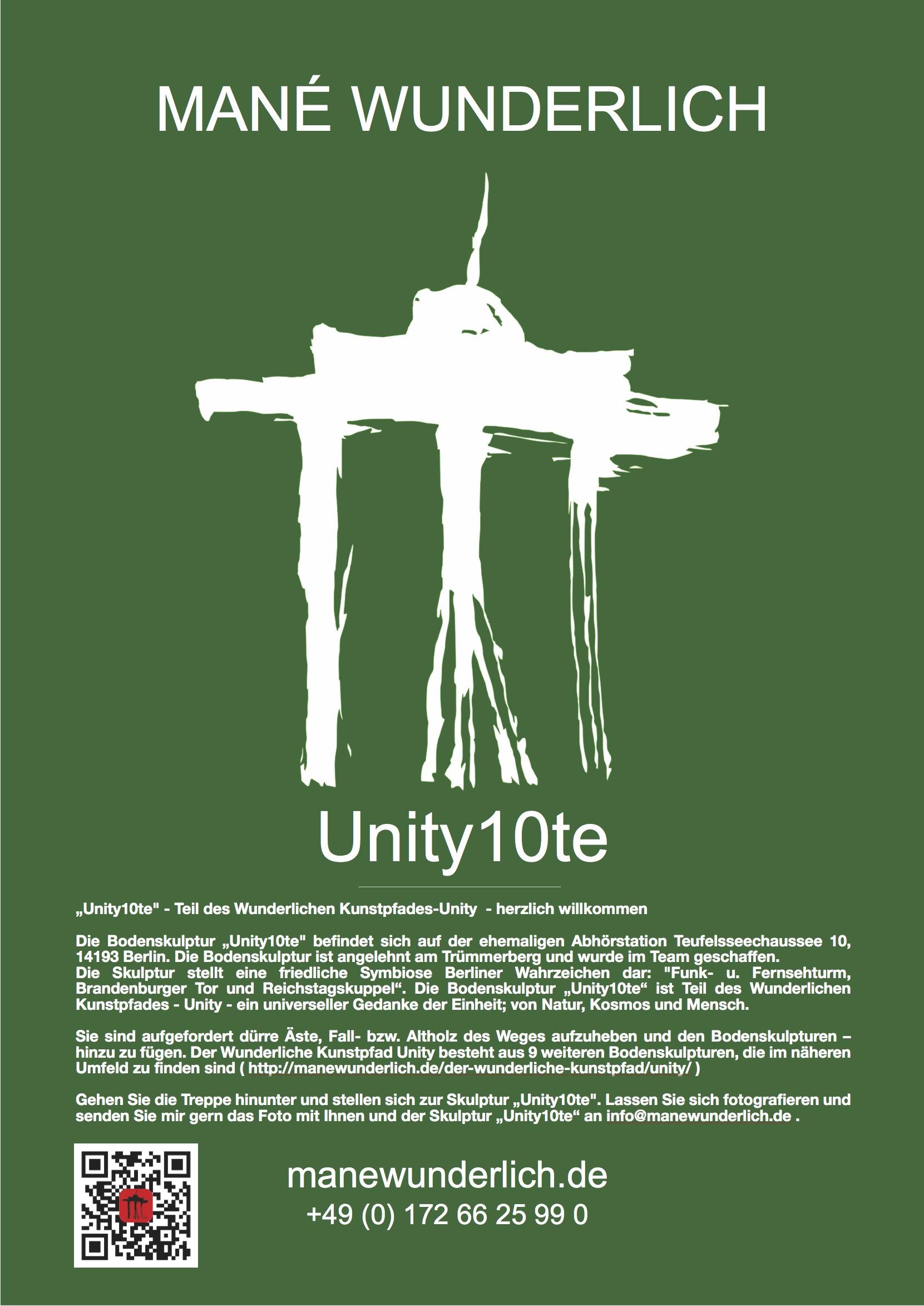 Plakat - Unity10te - Teufelsberg