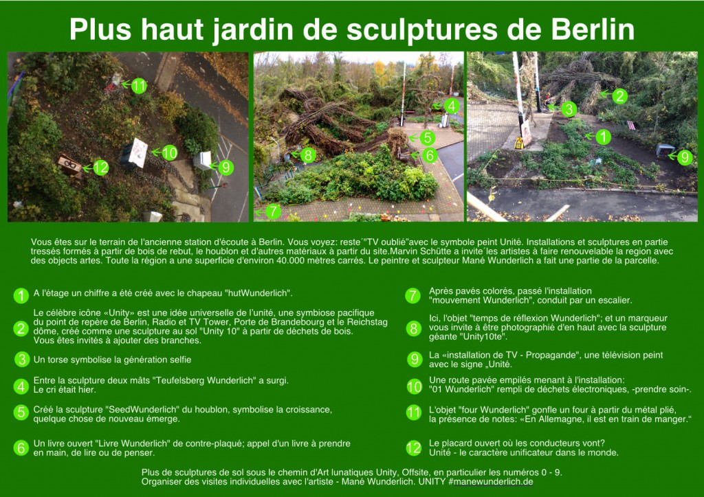 plus haut jardin de sculptures de berlin