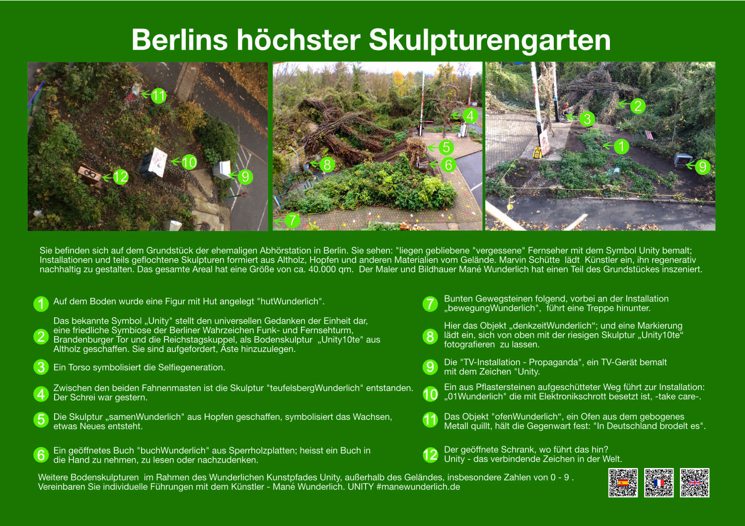 Berlins höchster Skulpturengarten